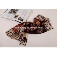 Mantón de lana estampado de moda de Mongolia Interior