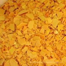 Желтые хлопья 60% Сульфид натрия для промышленного сорта