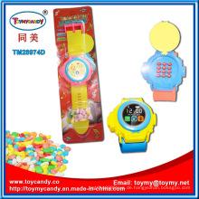 Musikalische Beleuchtung im Gespräch Handy Uhr Spielzeug mit Süßigkeiten