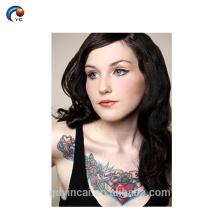 Pasta de alta calidad del tatuaje del maquillaje del cuerpo de la impresión de la transferencia del agua en el mejor precio