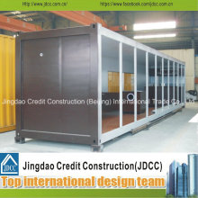 Einfache Installation und Verschieben Container Showroom
