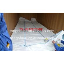 24cbm pe de grade alimentaire souple sac en conteneur de 20 pieds
