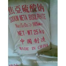 ISO Certificate Sodium Metabisulfite, Food Grade 97%