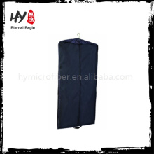 Sealable men non-woven garment bag, non woven suit bags cover, travel nonwoven garment bag