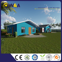 (WAS1501-52D)Economical Modular Steel Frame Prefabricated Building House