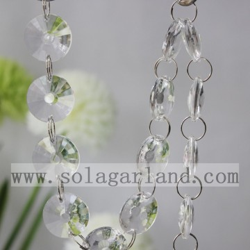 Acryl Crystal Wedding Bead Garland Strand