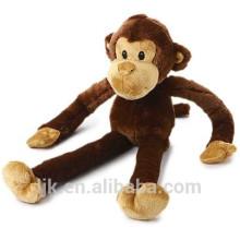 Maßgeschneiderte Design lange Arme und Beine Affe Plüschtier