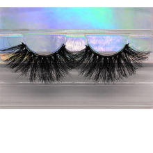 F177H Hitomi Wholesale Mink Eyelash Packaging Long Eyelash soft natural mink eyelashes Fluffy 25mm Magnetic Mink Eyelashes