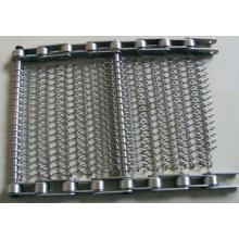 Stainless Steel Conveyor Mesh Belt/Stainless Steel Spiral Wire Conveyor Mesh Belt (XM-D4F)