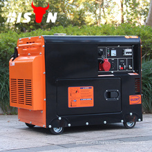 BISON(CHINA) Super Power Diesel Generator Silent-8500 ISO9001 15HP
