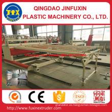 Línea de tablero de espuma de corteza de construcción de PVC