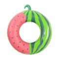 Anéis de natação infláveis para frutas