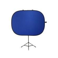5x6.5'fond pliable bleu photographie toile de fond