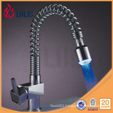 Flexible hose water glow led faucet light led faucet (A0028-LED)
