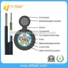 GYTC8S cable blindado de fibra óptica al aire libre hecho en China