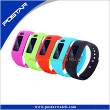 Nuevo reloj digital elegante Reloj pulsera colorida