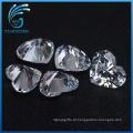 Excelente Qualidade Excelente Corte Bem Polido Coração Forma Cubic Zirconia Stones