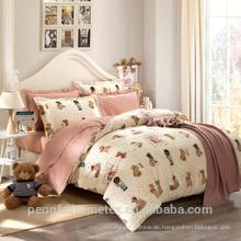 Wunderschöne Polyester gebürstet Stoff für Bettwäsche Blatt mit guter Qualität zum Verkauf