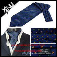 Corbata para hombre impresa seda de alta calidad Camo Ascot