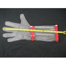 Langarm-Kettenhemd Protective Anti-Cut-Handschuh