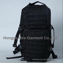High Quality Black Military Laptop Backpack Bags with 900d (HY-B066)