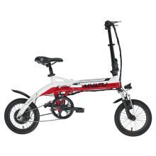 Bicicleta plegable eléctrica de 14 pulgadas