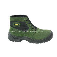 Cuir suédé & Mesh chaussures de sécurité avec Mesh doublure (HQ03050)