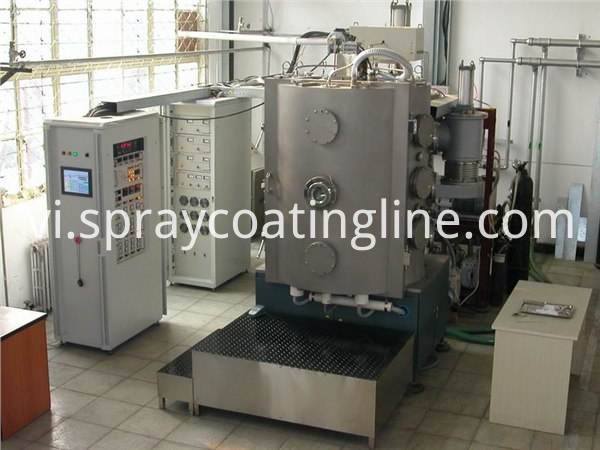 Water tap coating machine vacuum metalizing