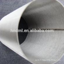 Maille de filtre de feutre non-tissée agglomérée d'acier inoxydable de 5 microns