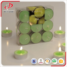 Colored aroma valentines day tealight candle