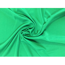 Fashion 100% polyester plain dyed knitted interlock fabric