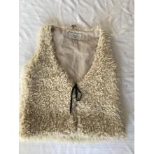 Ärmellose Kleidungsstücke aus Kunstpelz für Damen und Mädchen