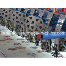 Cording e dupla máquina de bordar de lantejoulas