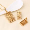 61423-Xuping Fashion Woman Jewlery Set with 18K Gold Plated