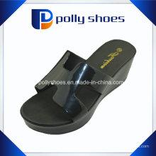 2016 sandália de senhoras novo design sandália de cunha