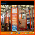Shanghai trade show booth portable, aluminum trade show booth, exhibition display