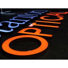 Im Freien LED beleuchtete Buchstabe-Zeichen für Geschäft und im Freien