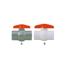 Era Valves Válvula de esfera compacta em PVC