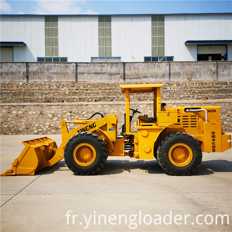 2ton mining loader Shovel