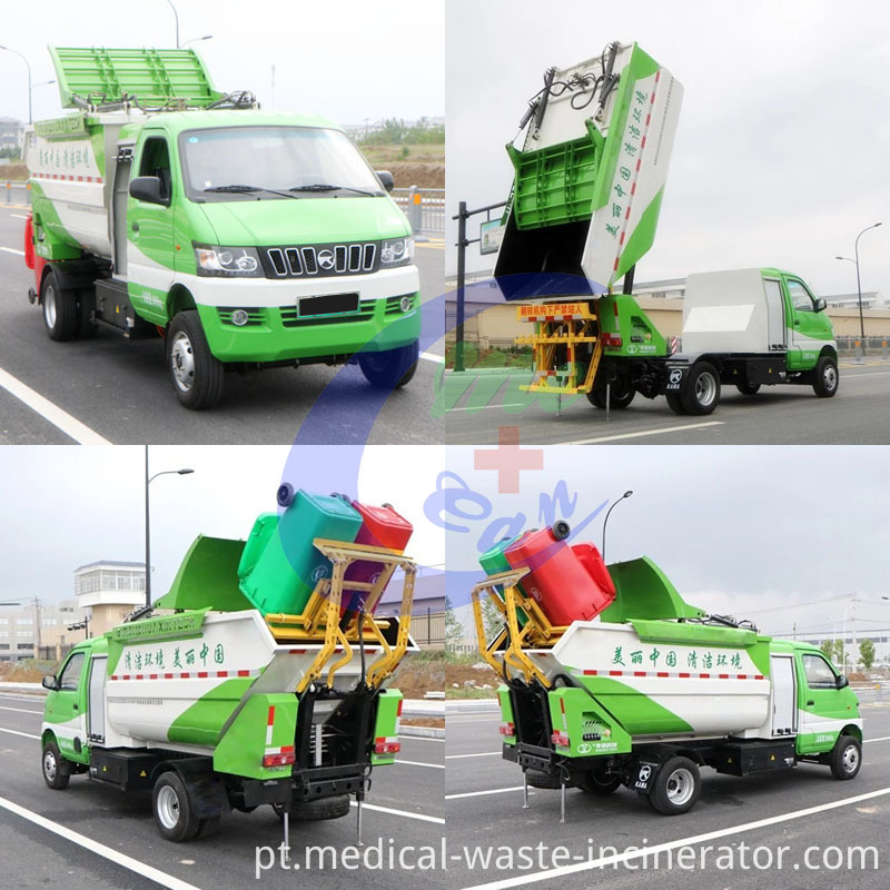 Drive Wheel garbage truck