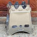Rover верблюд пикник плита площади стиль портативный складной открытый кемпинг печи