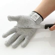 Hot selling OEM 100% cut resistant fiber gloves work