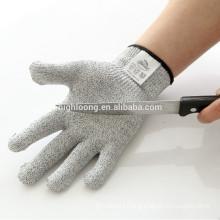 2016 New Design OEM 100% cut resistant fiber cut resistant glove