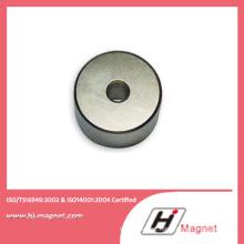 Super Strong N55 Neodymium Custom Shape Cylinder Magnet