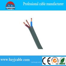 Cable eléctrico plano Cable de cobre Cable plano aislado PVC