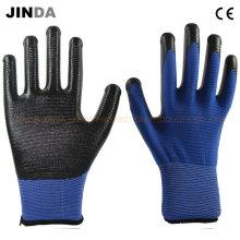 Защитные перчатки безопасности с защитой от нитрила (U205)