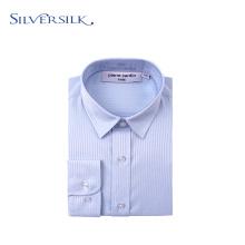 Lässiges Button-Down-Shirt für Jungen mit klassischem Baumwollstreifen