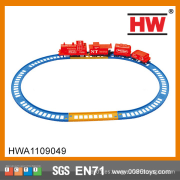 Interesante tragamonedas de tren eléctrico de pista juguetes Mini coche de juguete tren de pista