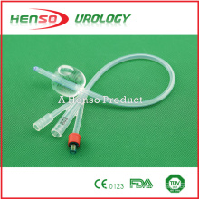 Three way (3 way) Standard Silicone Foley Catheter