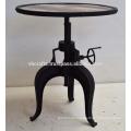 Metal Sheet Crank Table